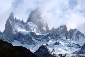 I Fitz Roy w Patagonii