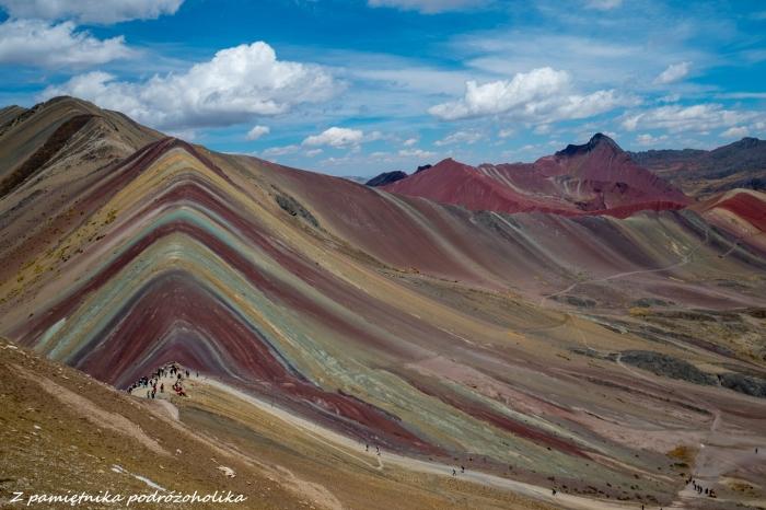 Tęczowa góra Peru 4